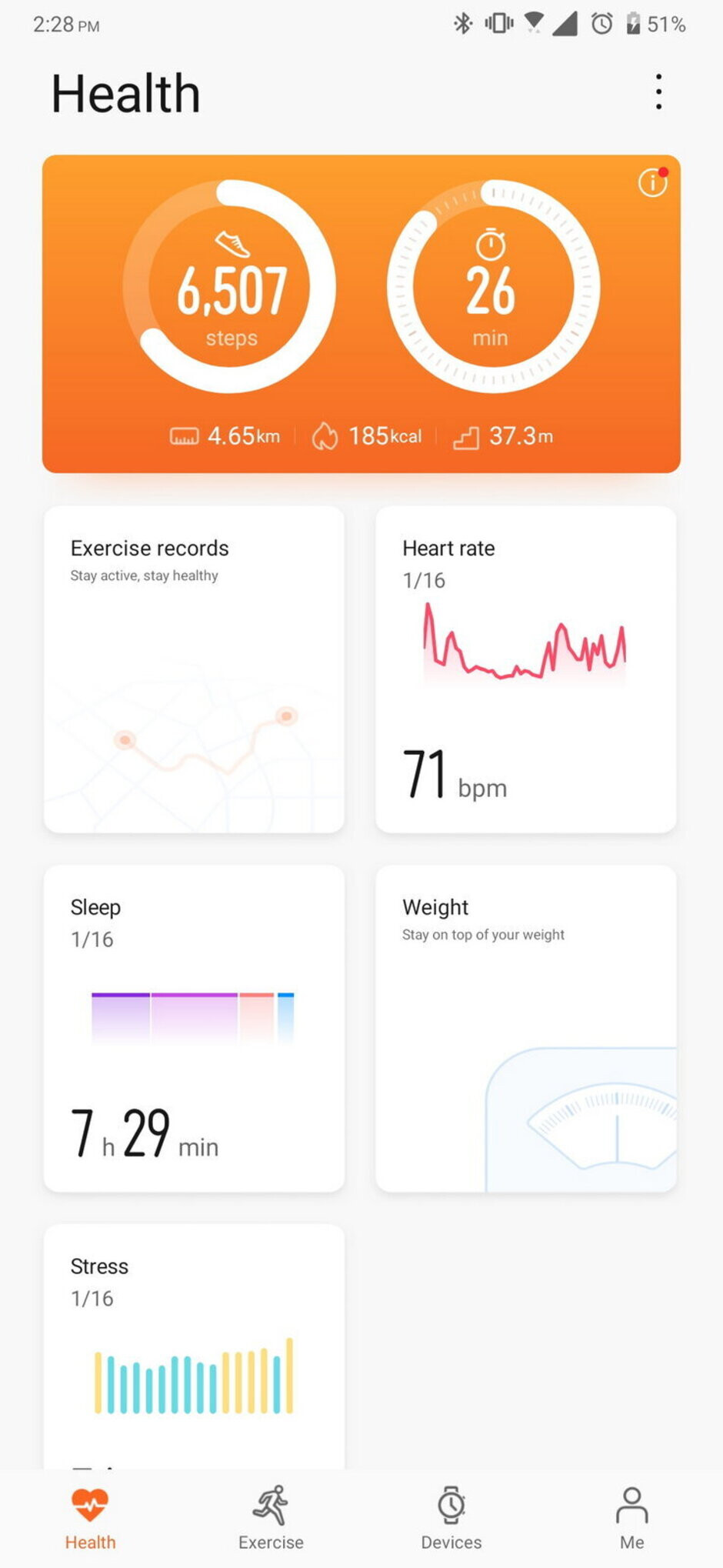 The Huawei Health app - Honor MagicWatch 2 Review
