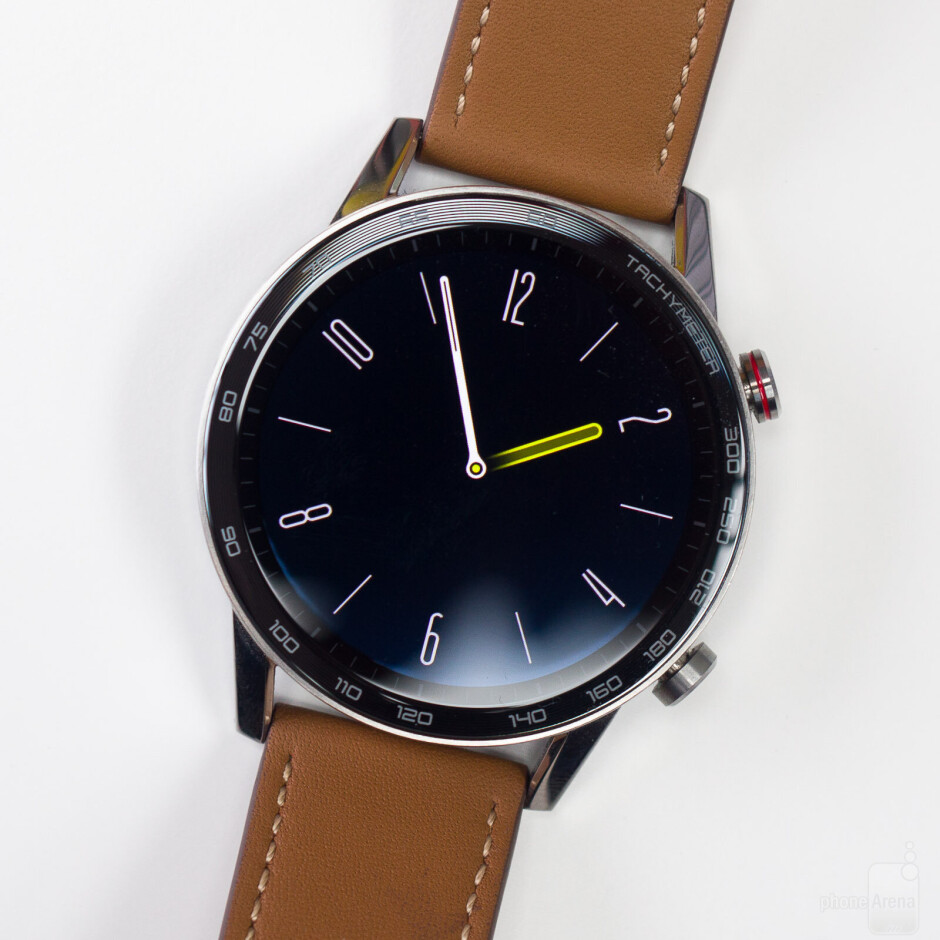Always on screen - Honor MagicWatch 2 Review
