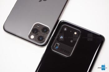 Samsung Galaxy S20 Ultra vs Apple iPhone 11 Pro Max: clash of the titans