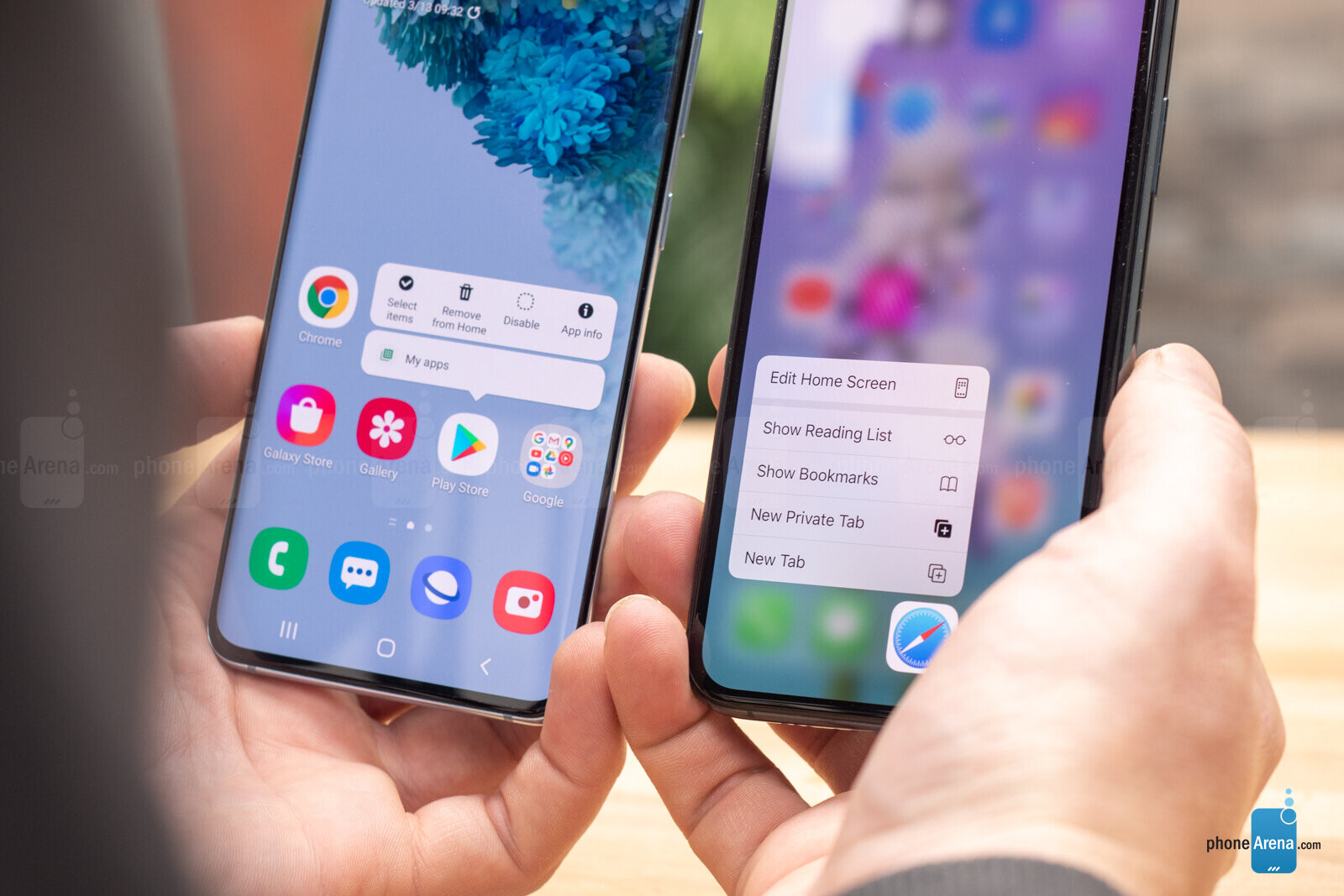 Samsung Galaxy S20 vs Apple iPhone 11 Pro