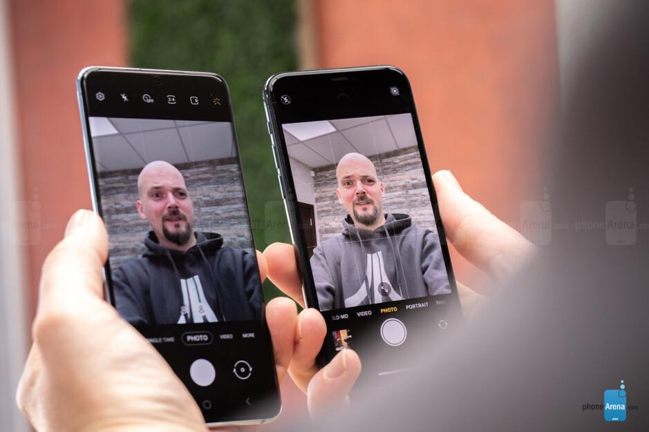 Samsung Galaxy S20 vs Apple iPhone 11 Pro