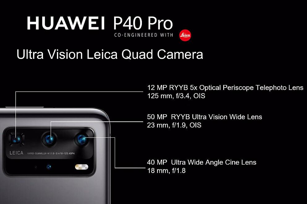 Huawei P40 Pro camera specs - Huawei P40 Pro Review