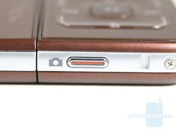 Camera Button - Samsung SGH-F500 Review