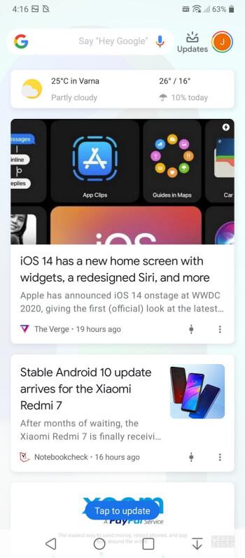 LG Velvet hadir dengan Android 10 - ulasan LG Velvet