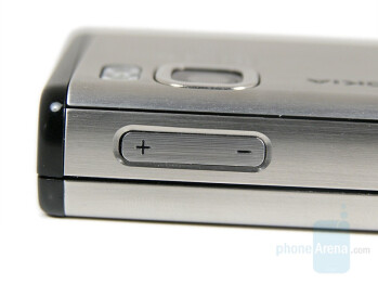 Volume Control - Nokia 6500 slide Review