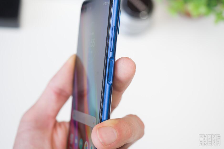 The fingerprint scanner - Motorola Moto G 5G Plus review