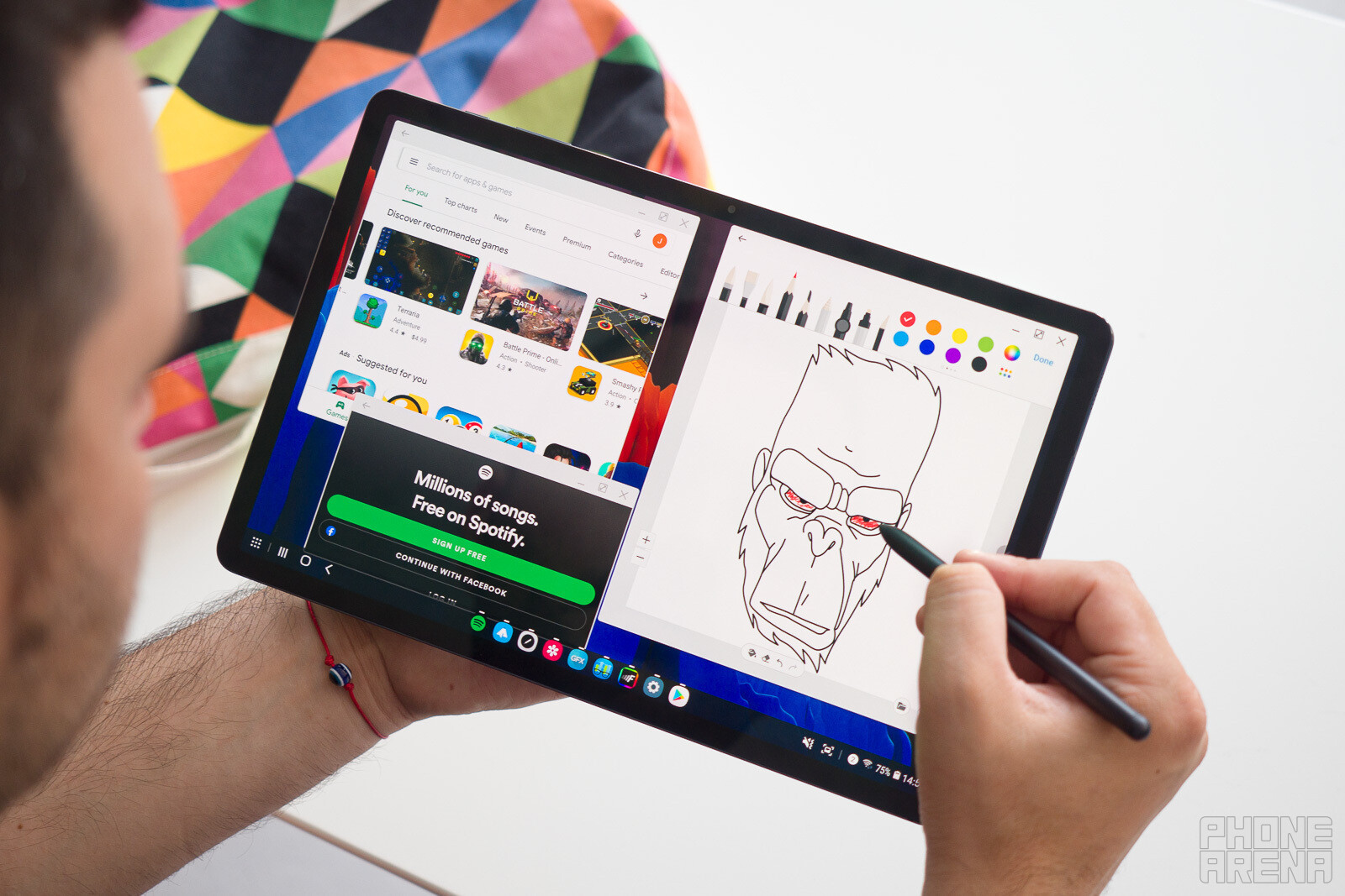 Samsung Galaxy Tab S7 Review The Ipad Pro Of Android Phonearena
