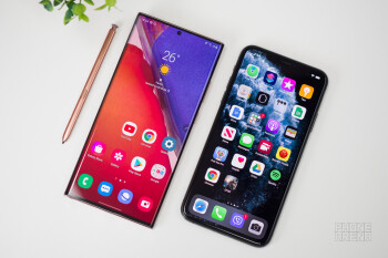 Samsung Galaxy Note 20 Ultra vs Apple iPhone 11 Pro Max