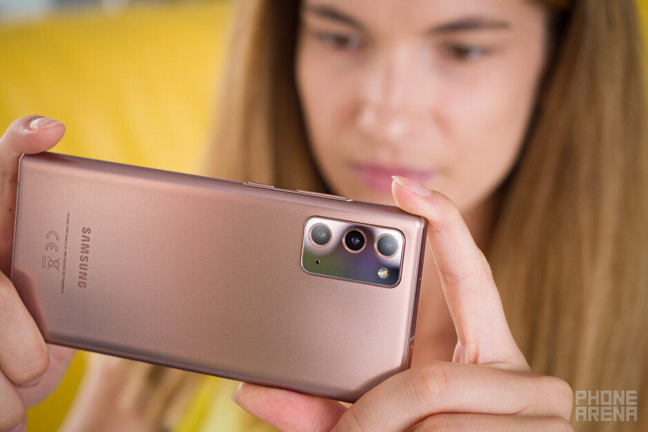 Samsung Galaxy Note 20 review: plastic jewelry