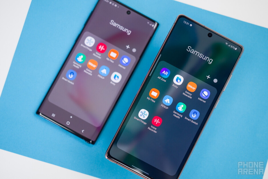 """Samsung Galaxy Note 20 vs Galaxy Note 10: battle of the """"cheap"""" Notes"""