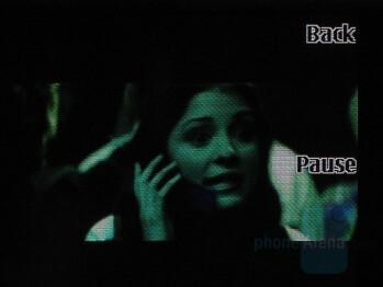 Video in full screen - Nokia 6500 slide Review