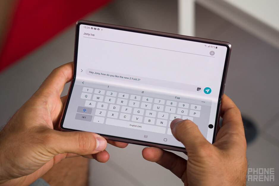 Unleash your inner Nokia Communicator - Samsung Galaxy Z Fold 2 5G review: the cool Communicator