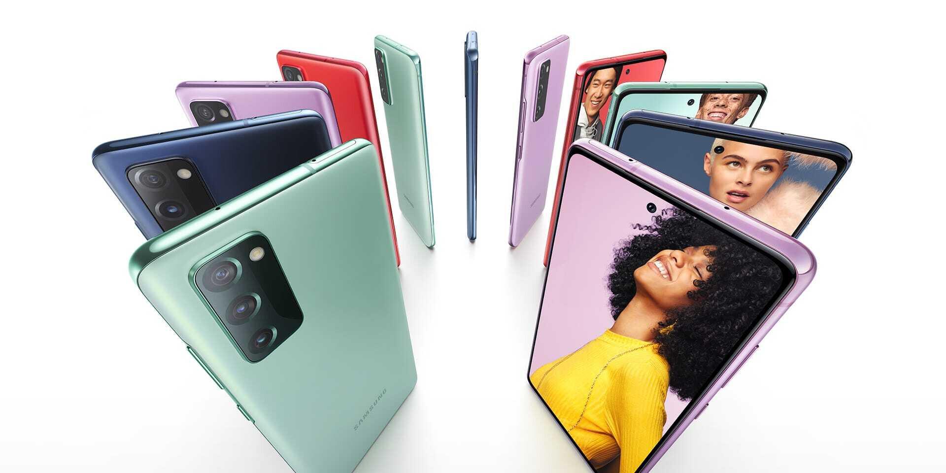 Samsung Galaxy S20 FE ทุกสี - รีวิว Samsung Galaxy S20 FE (Fan Edition) แชมป์ด้านราคา