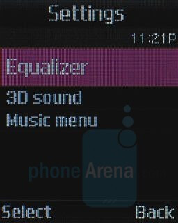 Music Player Interface - Samsung Beat Review