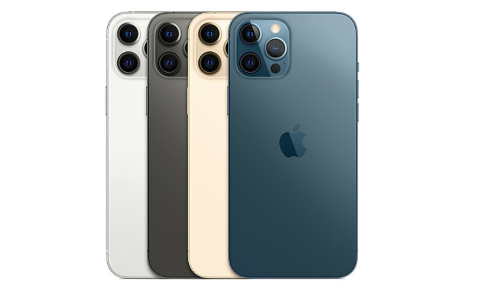 The iPhone 12 Pro and 12 Pro Max color options - Apple iPhone 12 Pro/Max vs iPhone XS/Max