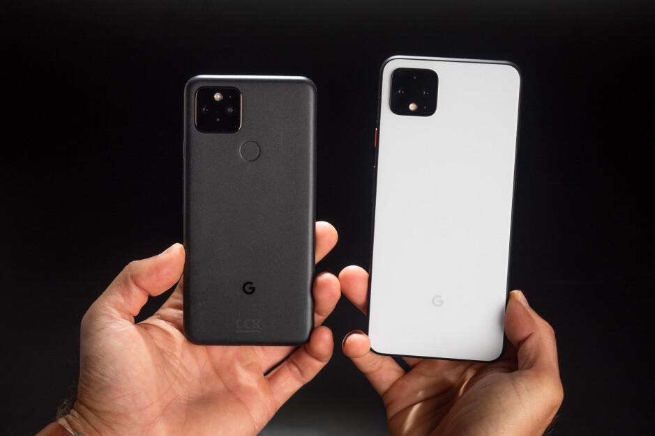 Google Pixel 5 vs Google Pixel 4