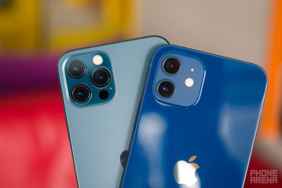 The iPhone 12 has a dual camera system, iPhone 12 Pro a triple one - iPhone 12 vs iPhone 12 Pro