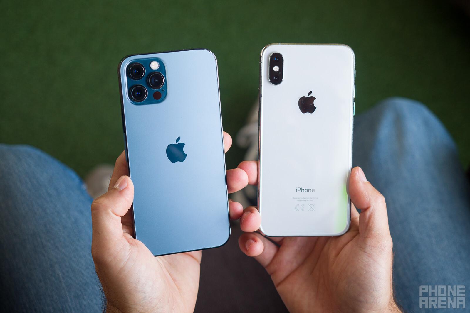 Apple iPhone 12 Pro/Max vs iPhone XS/Max - PhoneArena