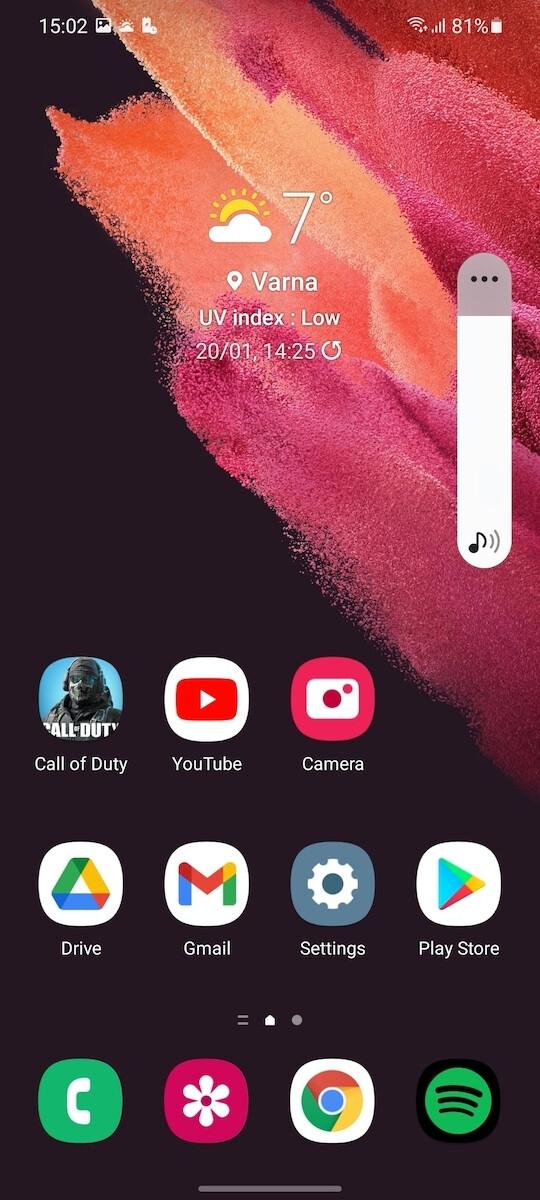 Light Mode - Samsung Galaxy S21 review