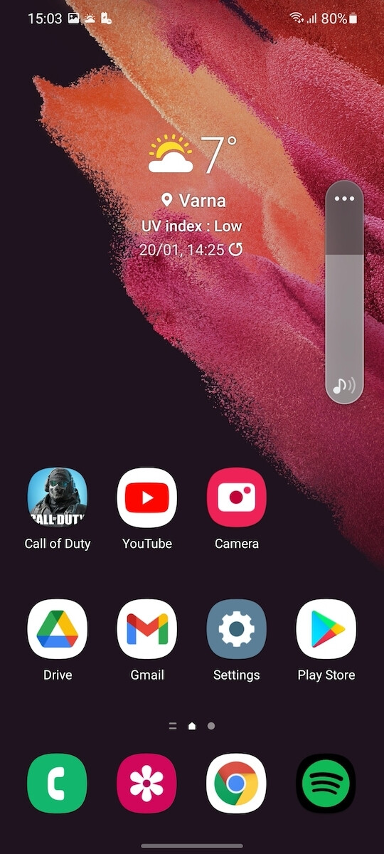 Dark Mode - Samsung Galaxy S21 review
