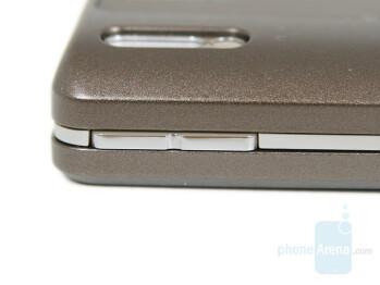 Volume keys - Sony Ericsson K770 Review