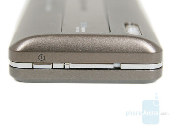 On/Off Button and Slider - Sony Ericsson K770 Review