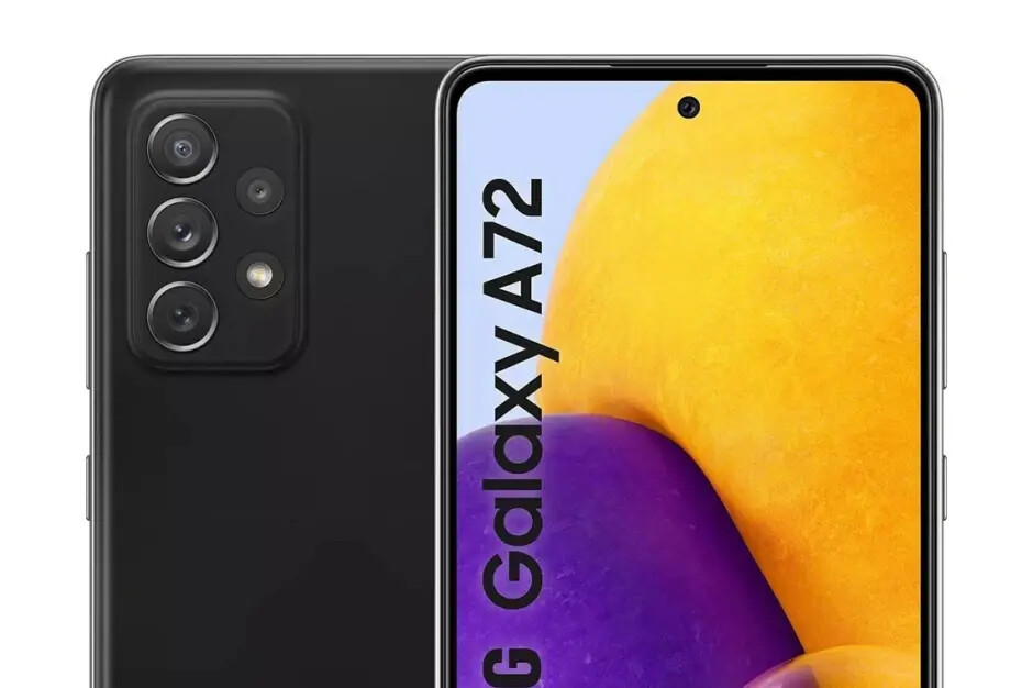 Samsung Galaxy A72 5G preview