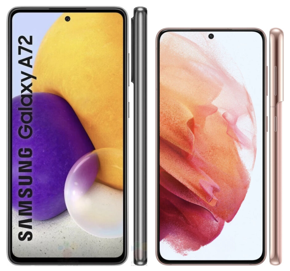 Galaxy A72 vs Galaxy S21 - Samsung Galaxy A72 vs Galaxy S21 5G: expectations