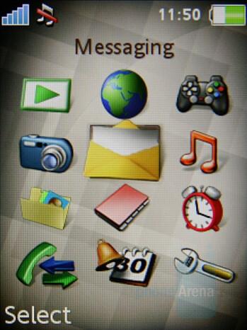Main Menu - Sony Ericsson K770 Review