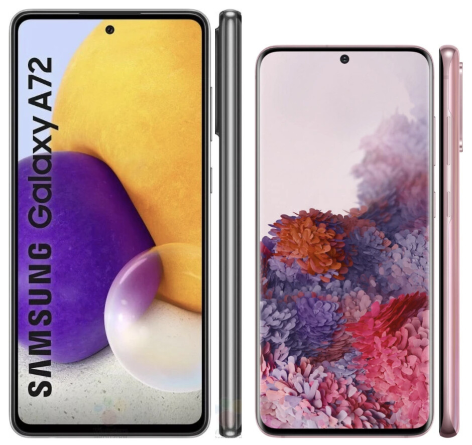 Galaxy A72 vs Galaxy S20 - Samsung Galaxy A72 5G vs Galaxy S20 5G: preview and expectations