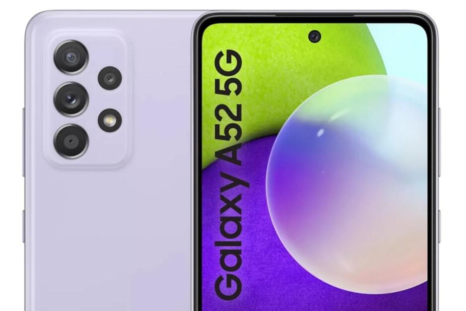 Samsung Galaxy A52 5G preview