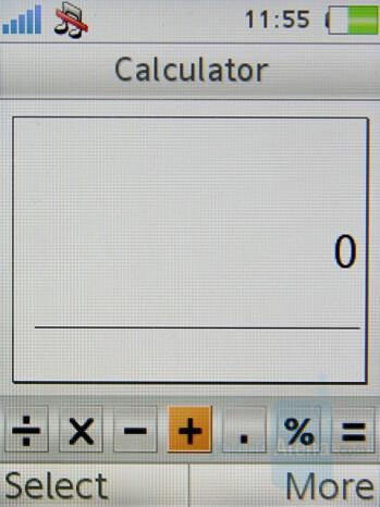 Calculator - Sony Ericsson K770 Review