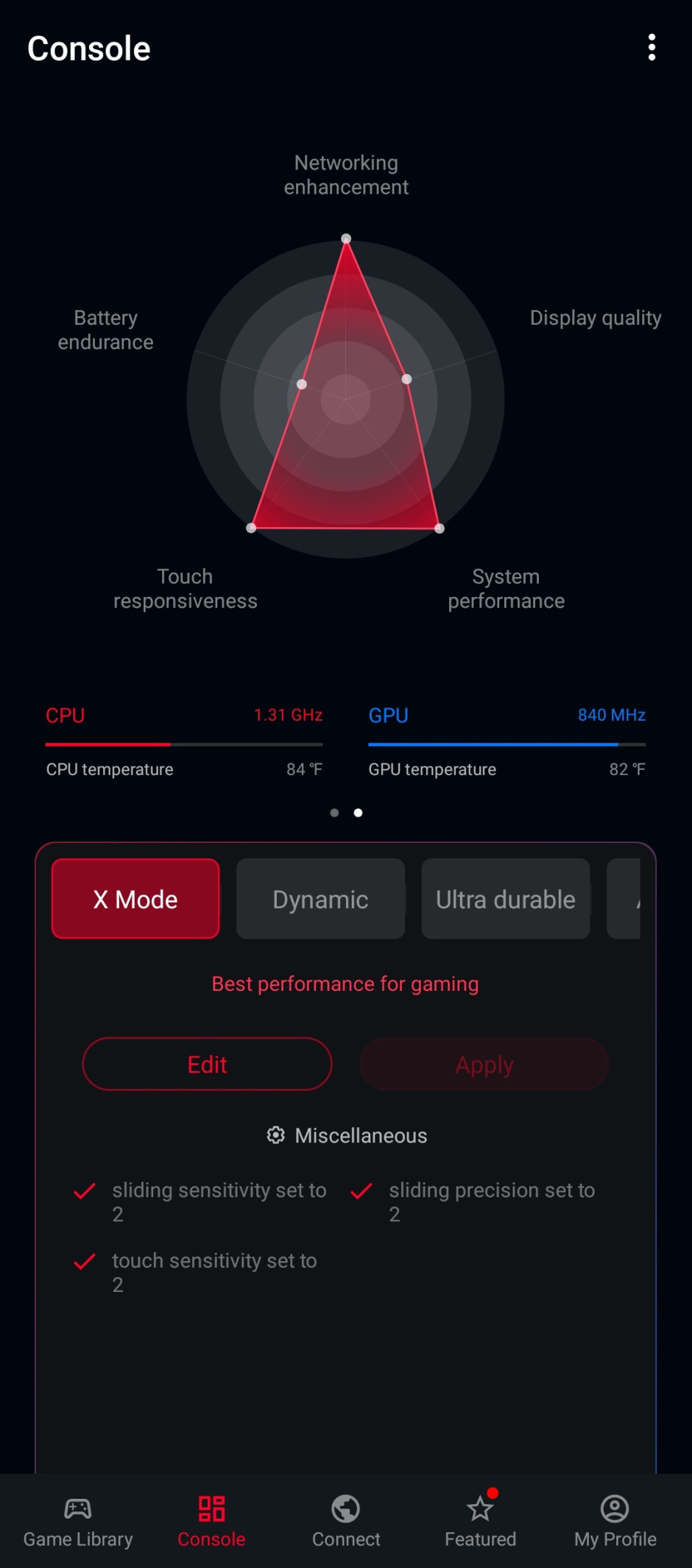 X Mode on the Asus ROG Phone 5 - Asus ROG Phone 5 review