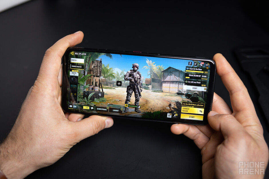 The ROG Phone 5 boasts dual front-firing speakers - Asus ROG Phone 5 review