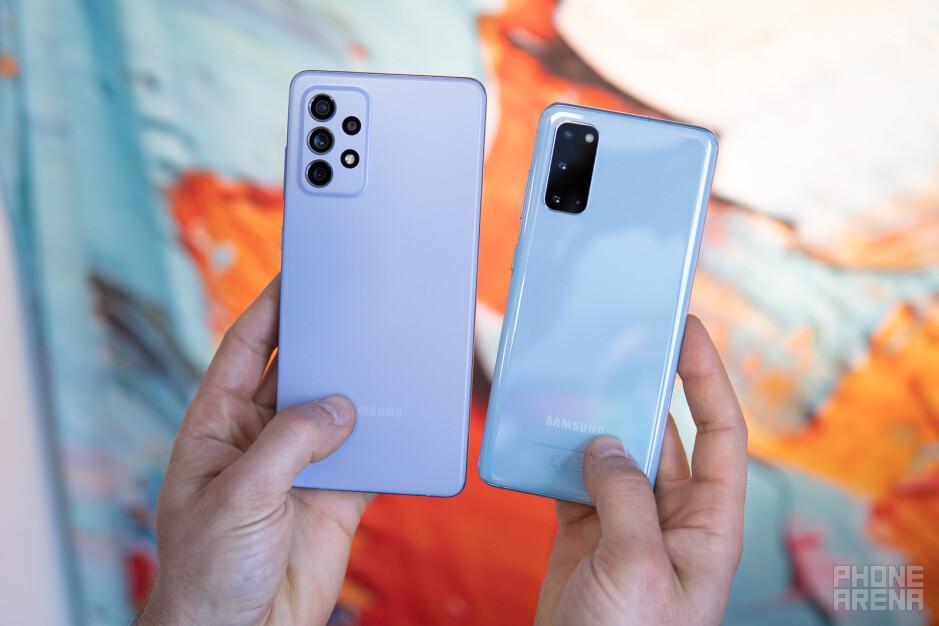 Samsung Galaxy A72 5G vs Galaxy S20 5G