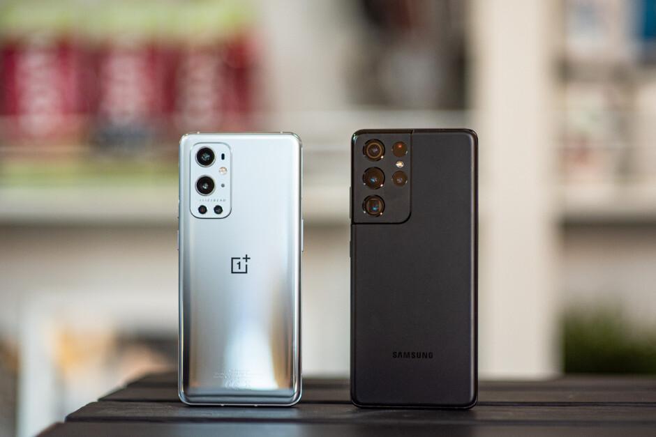OnePlus 9 Pro vs Samsung Galaxy S21 Ultra 5G, a price war
