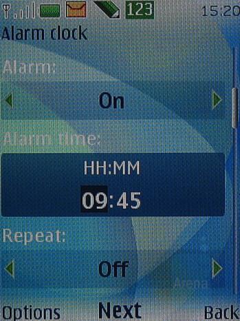 Alarm - Nokia 6500 classic Review