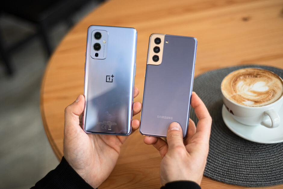 OnePlus 9 vs Samsung Galaxy S21 5G