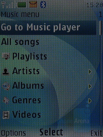 Music Player Interface - Nokia 6500 classic Review