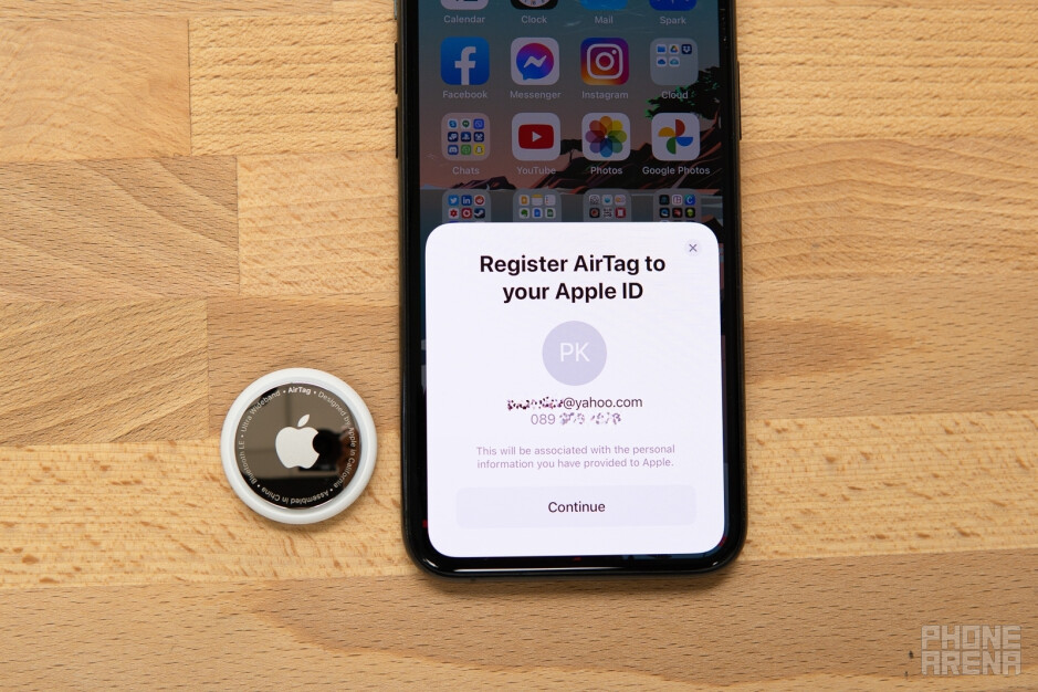 Setting up AirTag - Apple AirTags review: the good, the bad, and the tiny