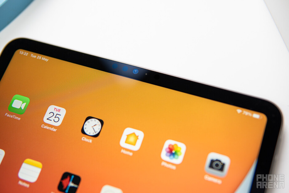 The Face ID sensor is back - iPad Pro 2021 (11-inch) Review: M1 power, iPadOS drawbacks