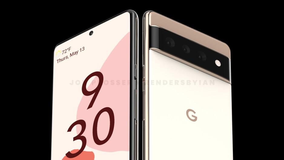 Pixel 6 Render - Google Pixel 6 vs Pixel 5a: confronto preliminare