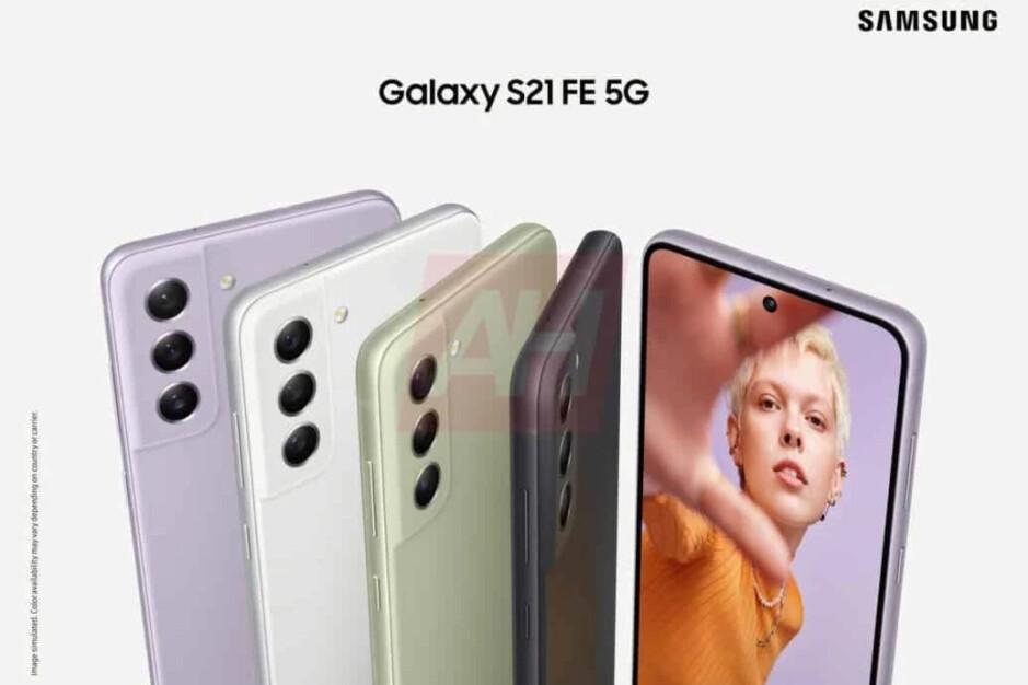 Galaxy S21 FE colors