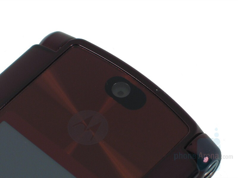 2 Megapixel Camera - Motorola RAZR2 V9 Review