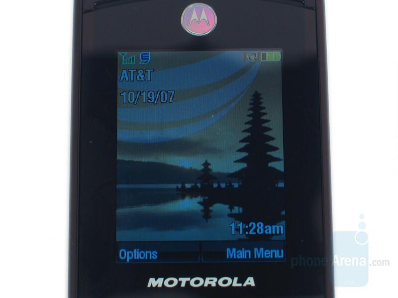 Inside Display - Motorola RAZR2 V9 Review