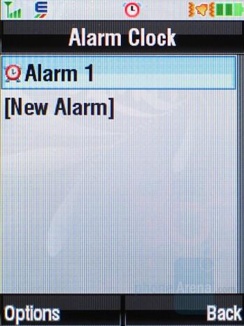 Alarm Clock - Motorola RAZR2 V9 Review