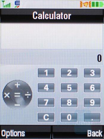 Calculator - Motorola RAZR2 V9 Review