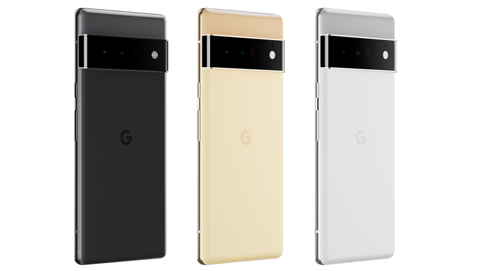 The Google Pixel 6 Pro design and colors (official images) - Google Pixel 6 Pro vs iPhone 13 Pro compared: Quite a difference!