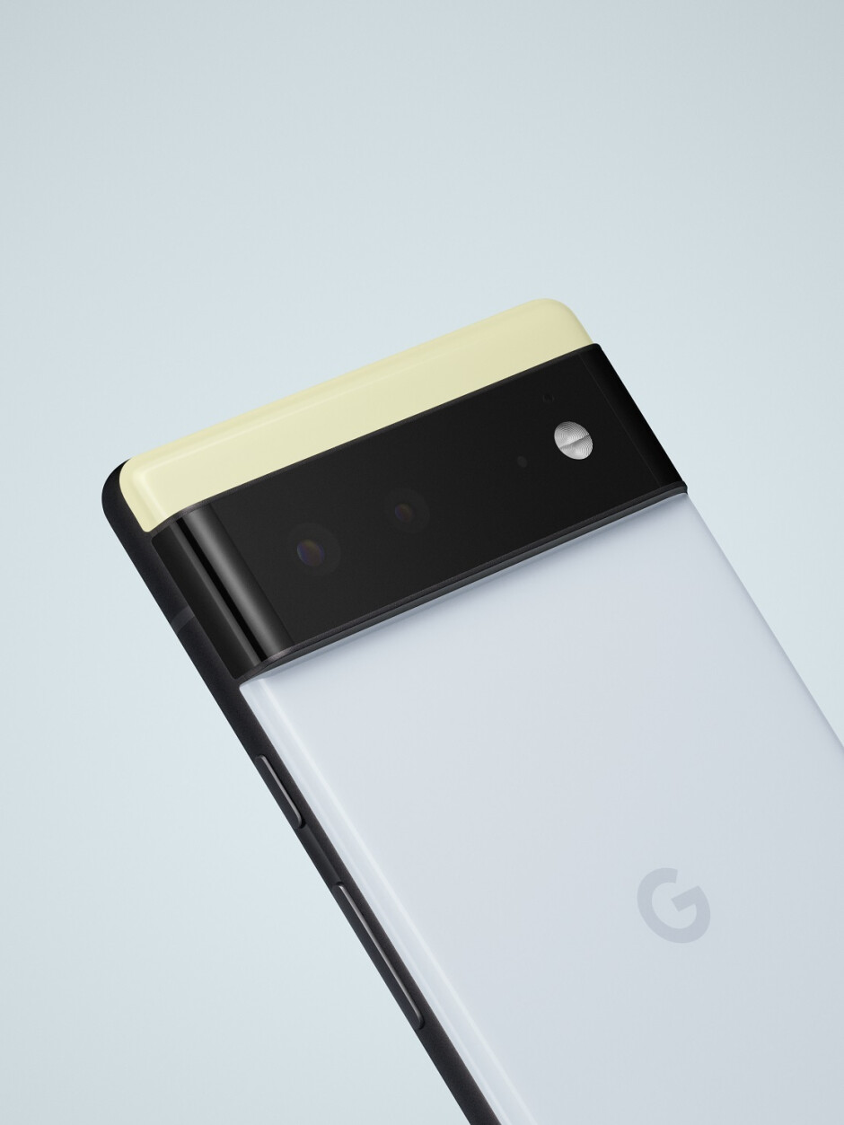 The Google Pixel 6 series camera module (official image) - Google Pixel 6 Pro vs iPhone 13 Pro compared: Quite a difference!