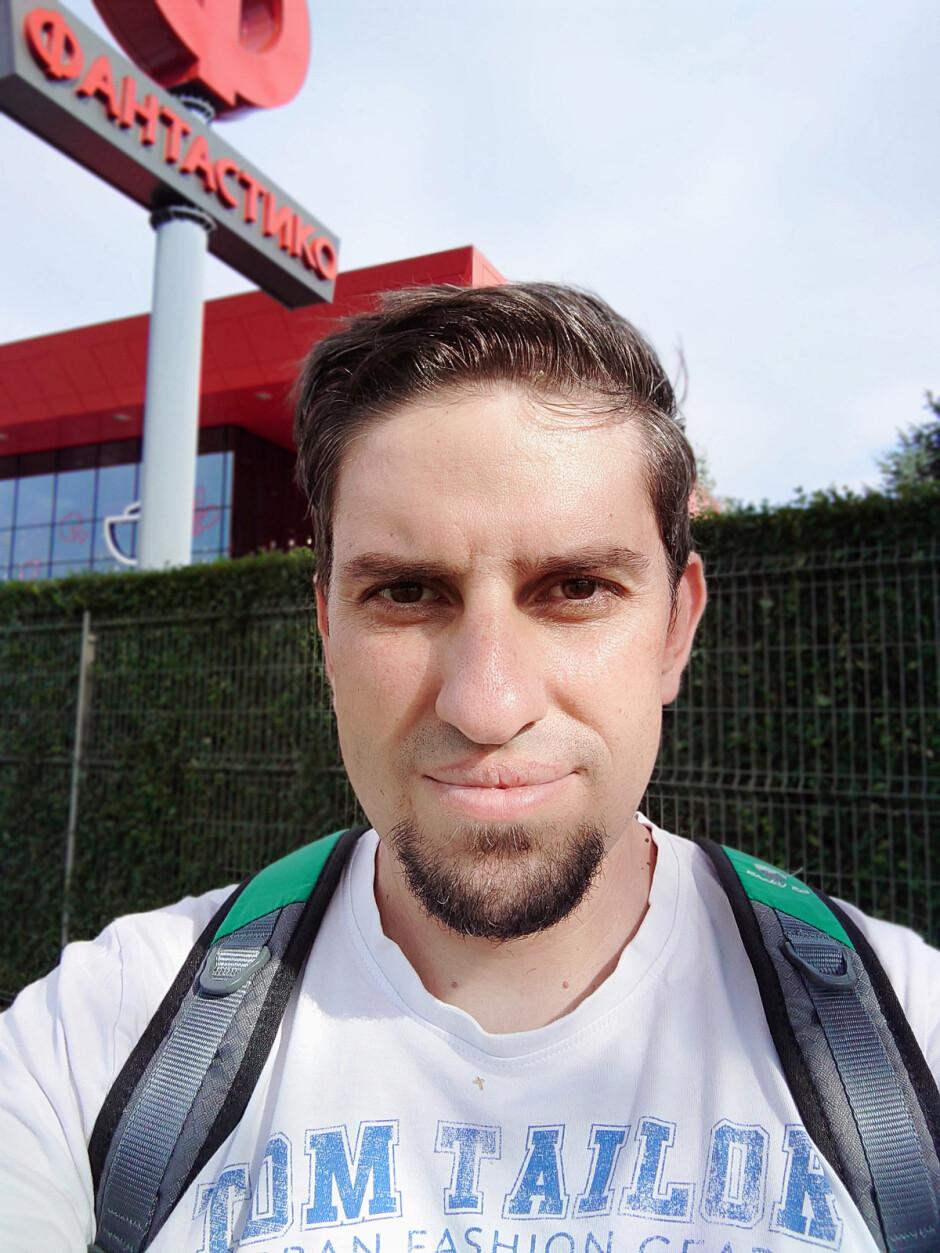 Portrait selfie mode - Sony Xperia 5 III review: a flawed diamond